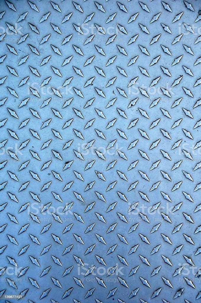 steel treadplate royalty-free stock photo