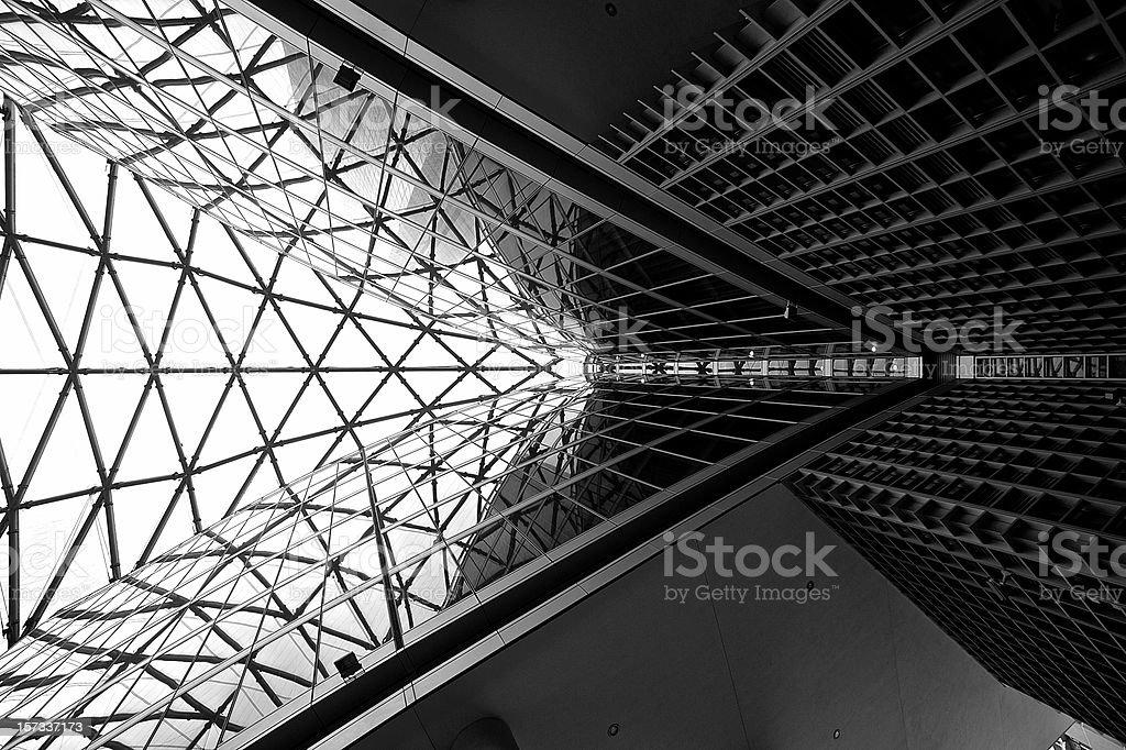 Triangoli d'Acciaio stock photo