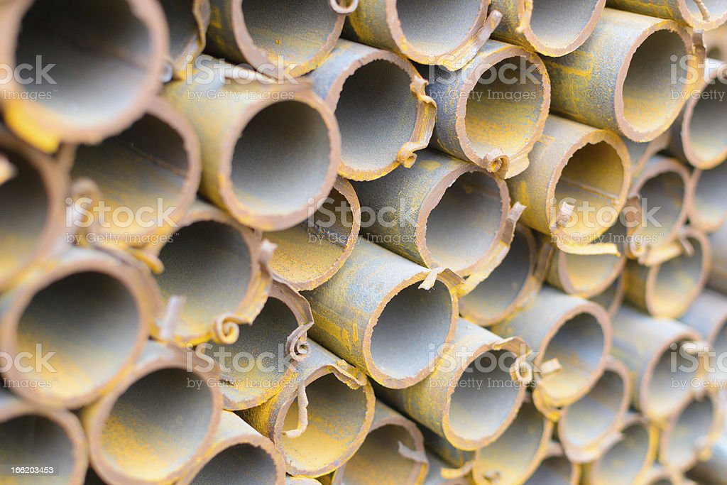steel tube royalty-free stock photo