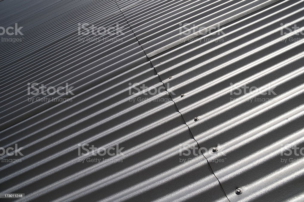 Steel wall royalty-free stock photo