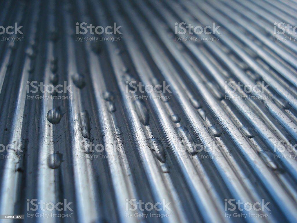 Steel Waves III royalty-free stock photo