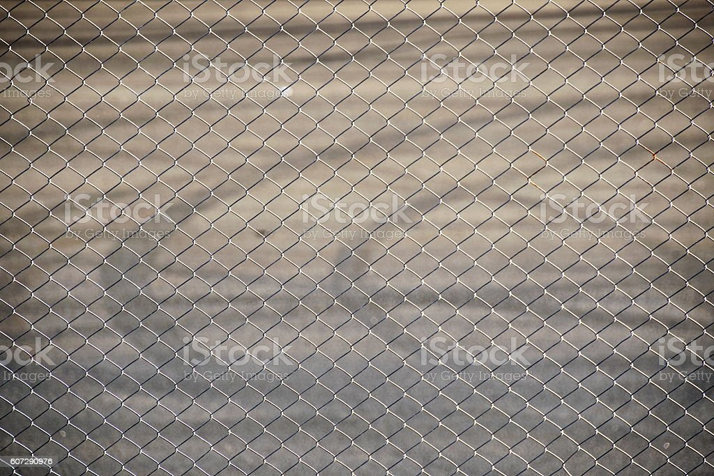 Steel Wire mesh for fence Raceway sport stock photo