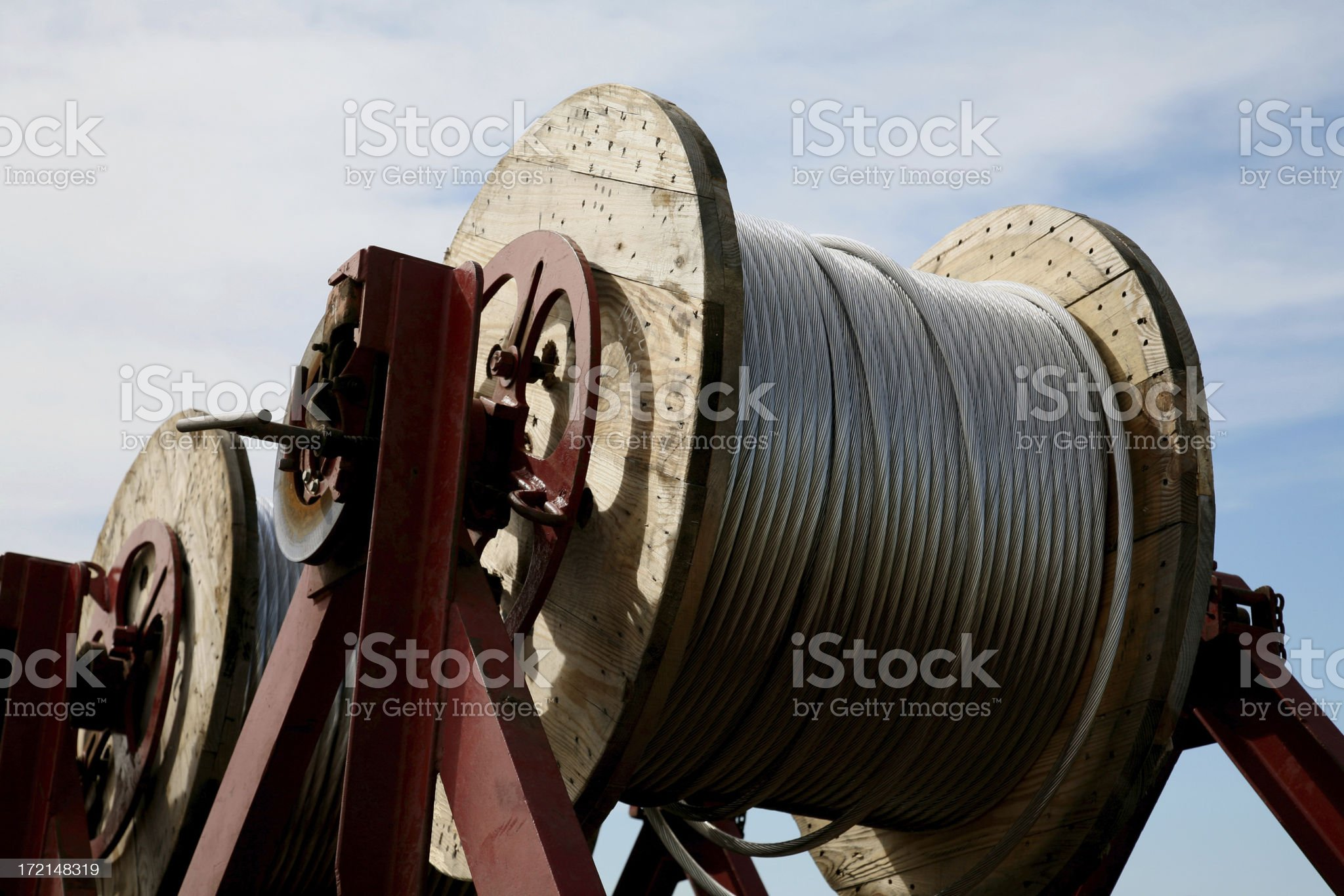 steel wire royalty-free stock photo