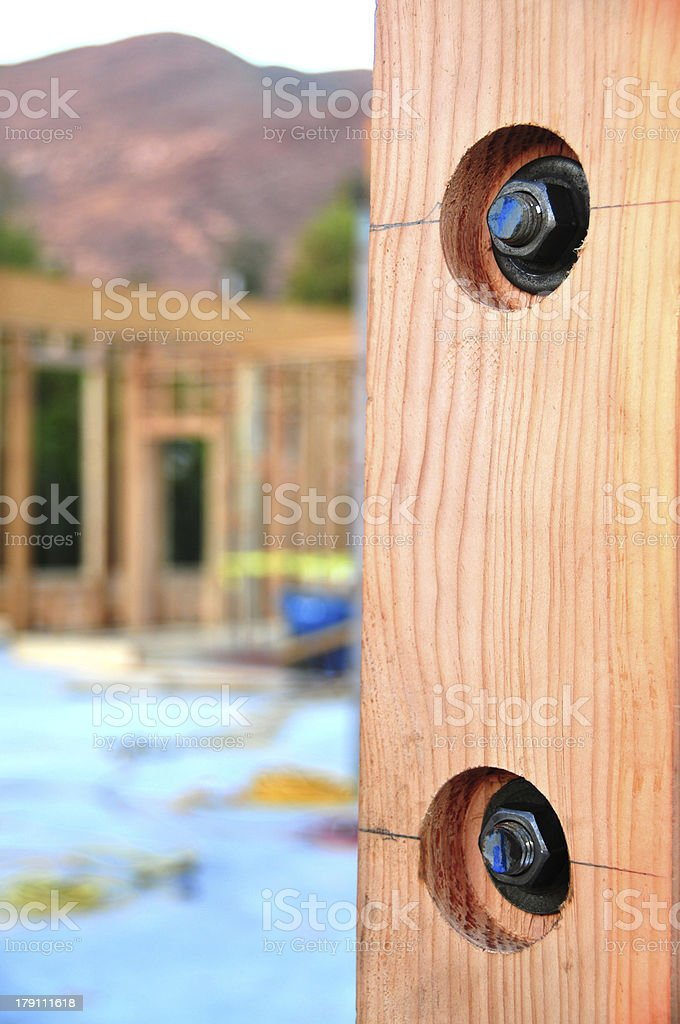 Steel wood grip royalty-free stock photo