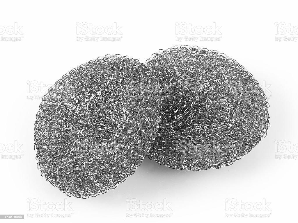 Steel wool royalty-free stock photo