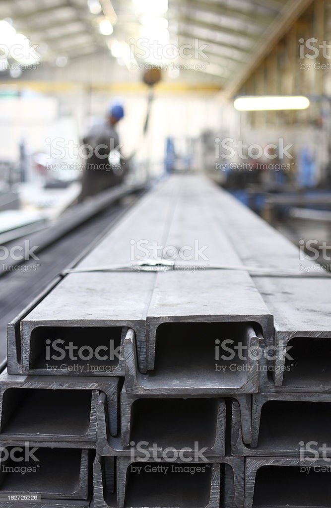 steel works royalty-free stock photo
