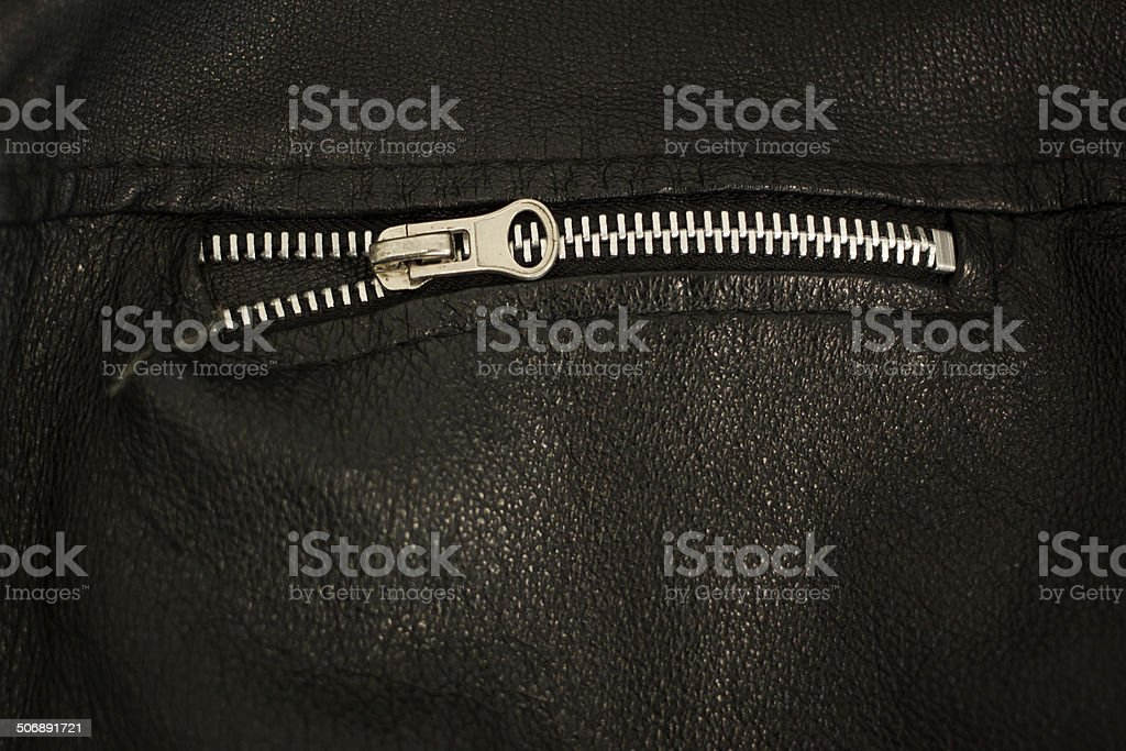 steel zip stock photo