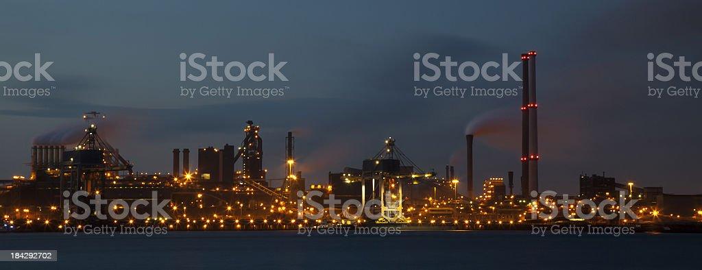 Steelfactory stock photo