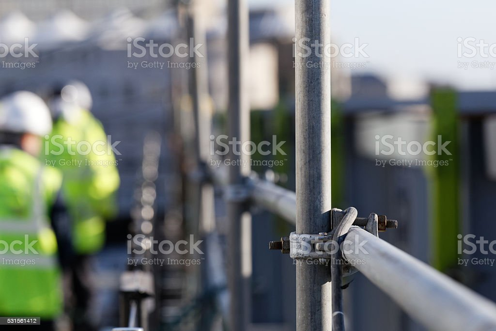 steelwork stock photo