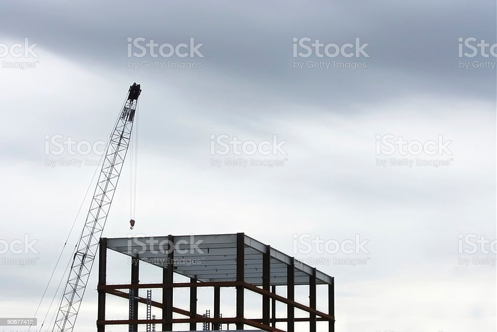 Steely Blue royalty-free stock photo