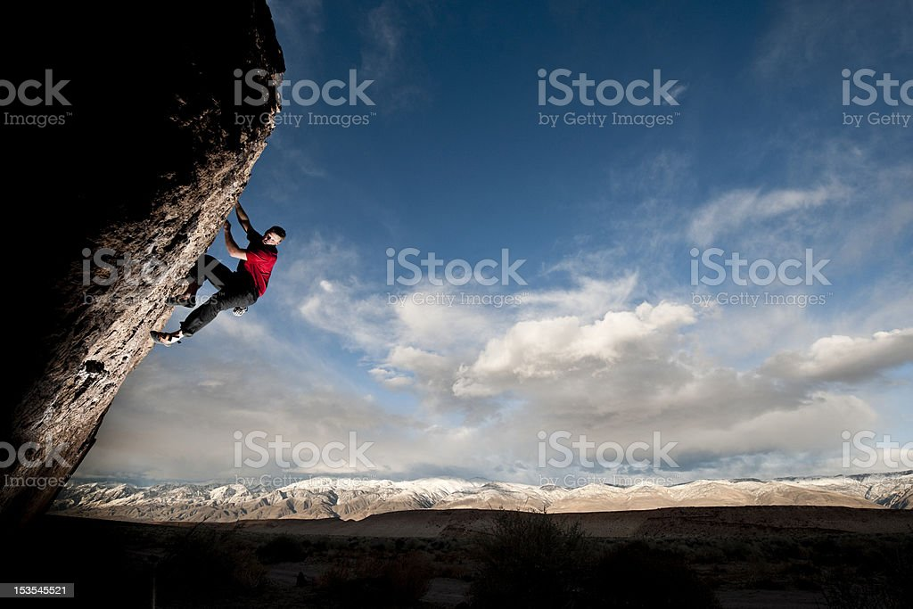 steep action stock photo