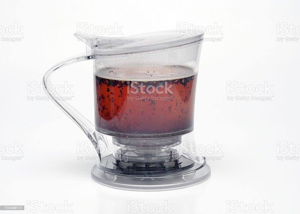 Steeping Tea royalty-free stock photo