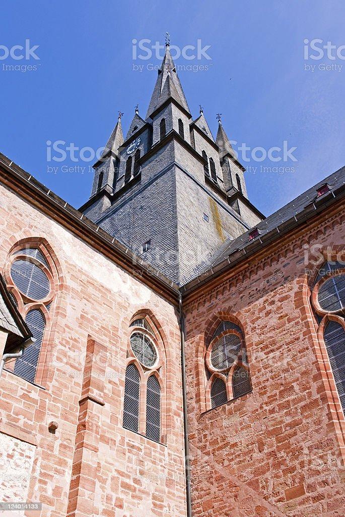 尖り屋根の修道院 ロイヤリティフリーストックフォト