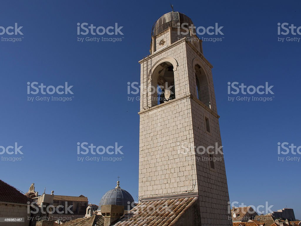 kirchturm stock photo