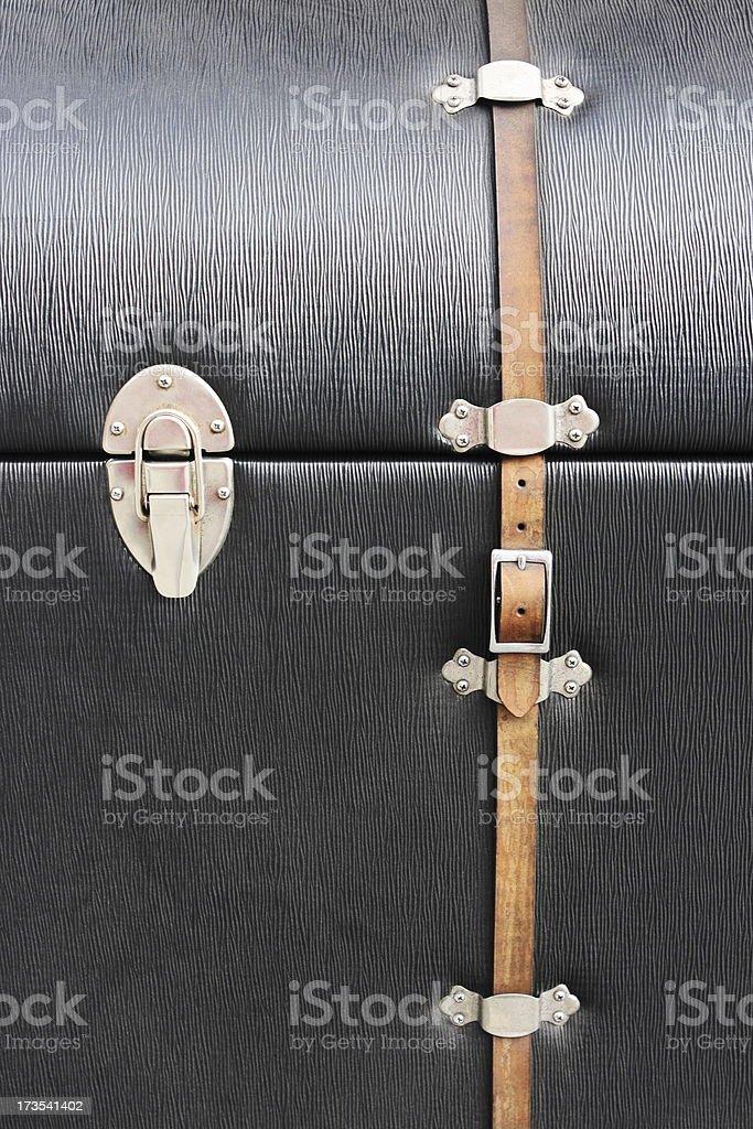 Steerage Trunk Travel Luggage stock photo