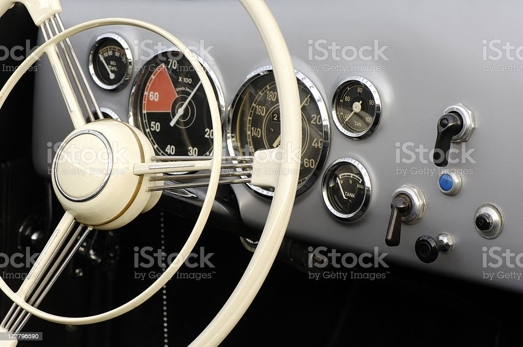 Steering wheel royalty-free stock photo