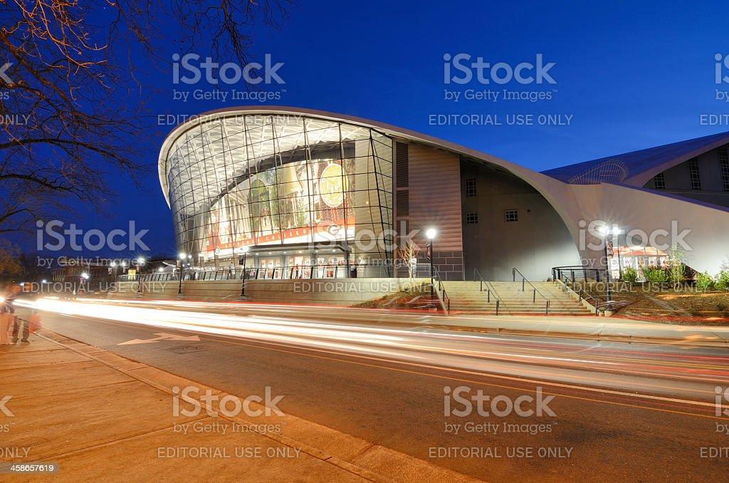 Stegeman Coliseum stock photo