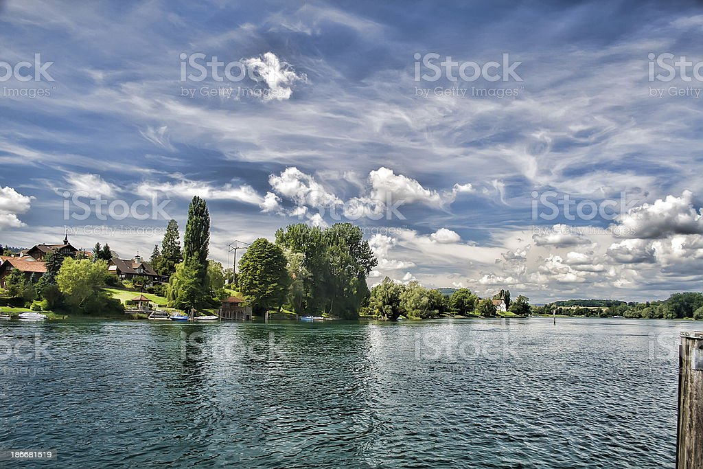 Stein Am Rhein royalty-free stock photo