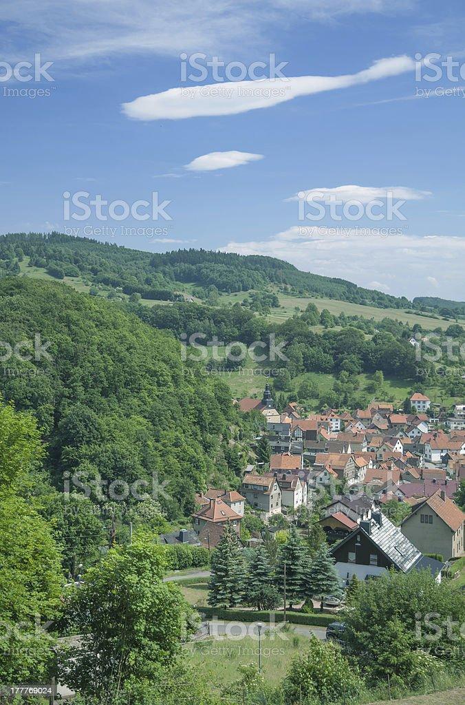 Steinbach,Thuringia,Germany royalty-free stock photo