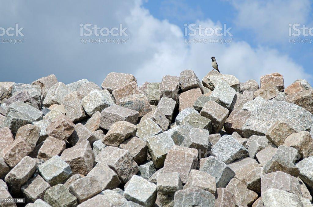 steine stock photo