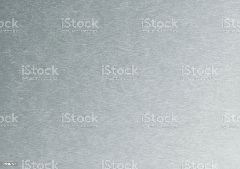 Steinless steel used background stock photo
