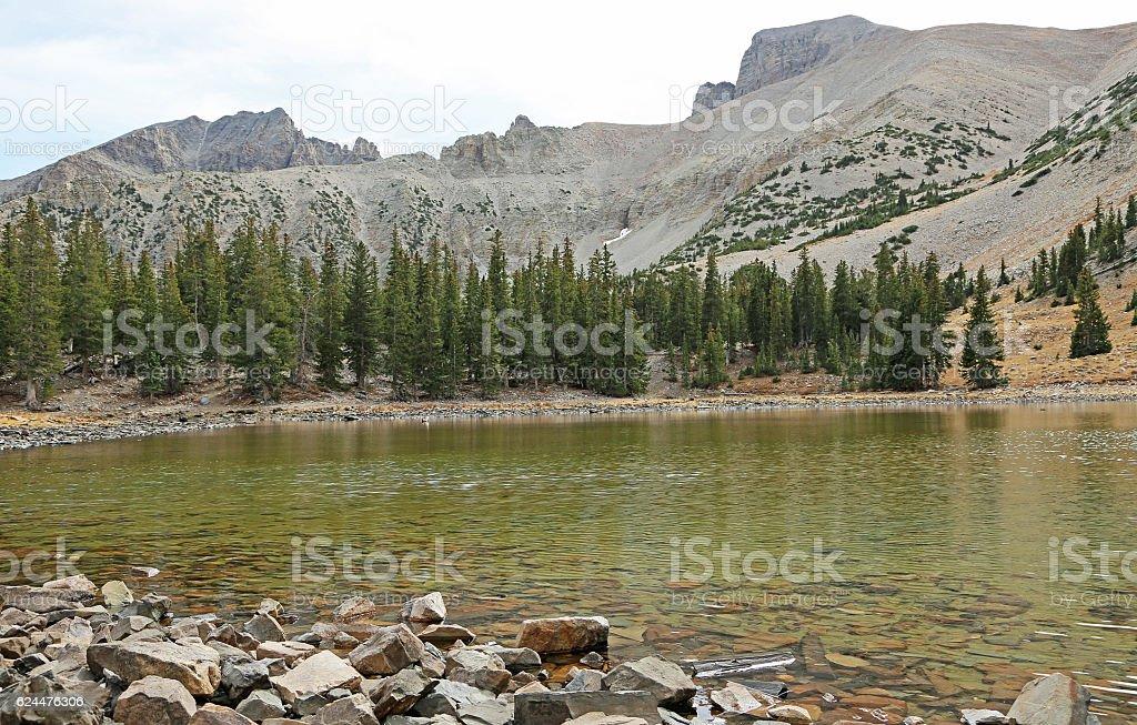 Stella Lake stock photo