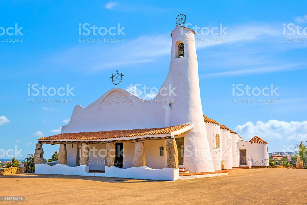 Stella Maris Church stock photo