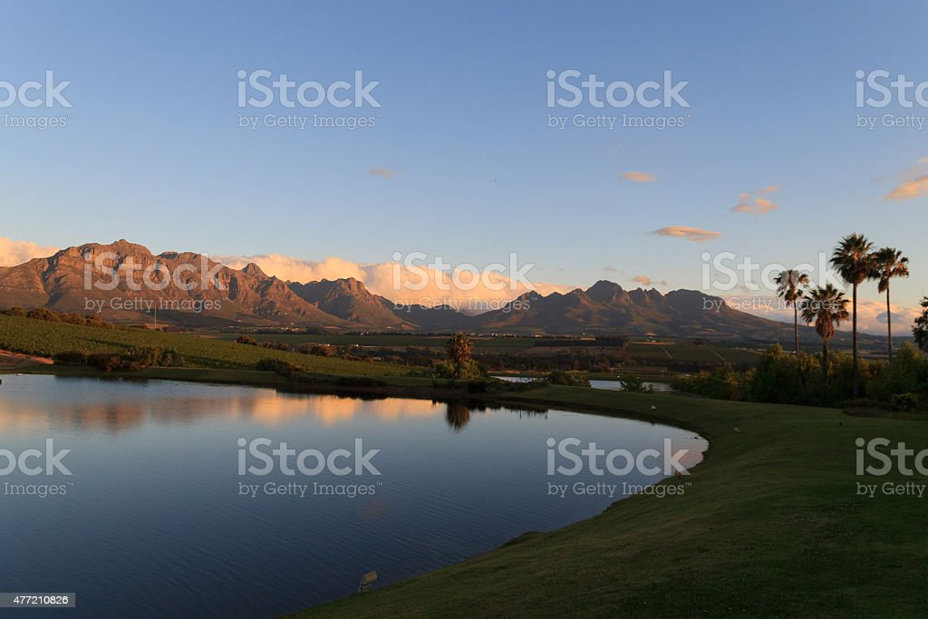 Stellenbosch stock photo