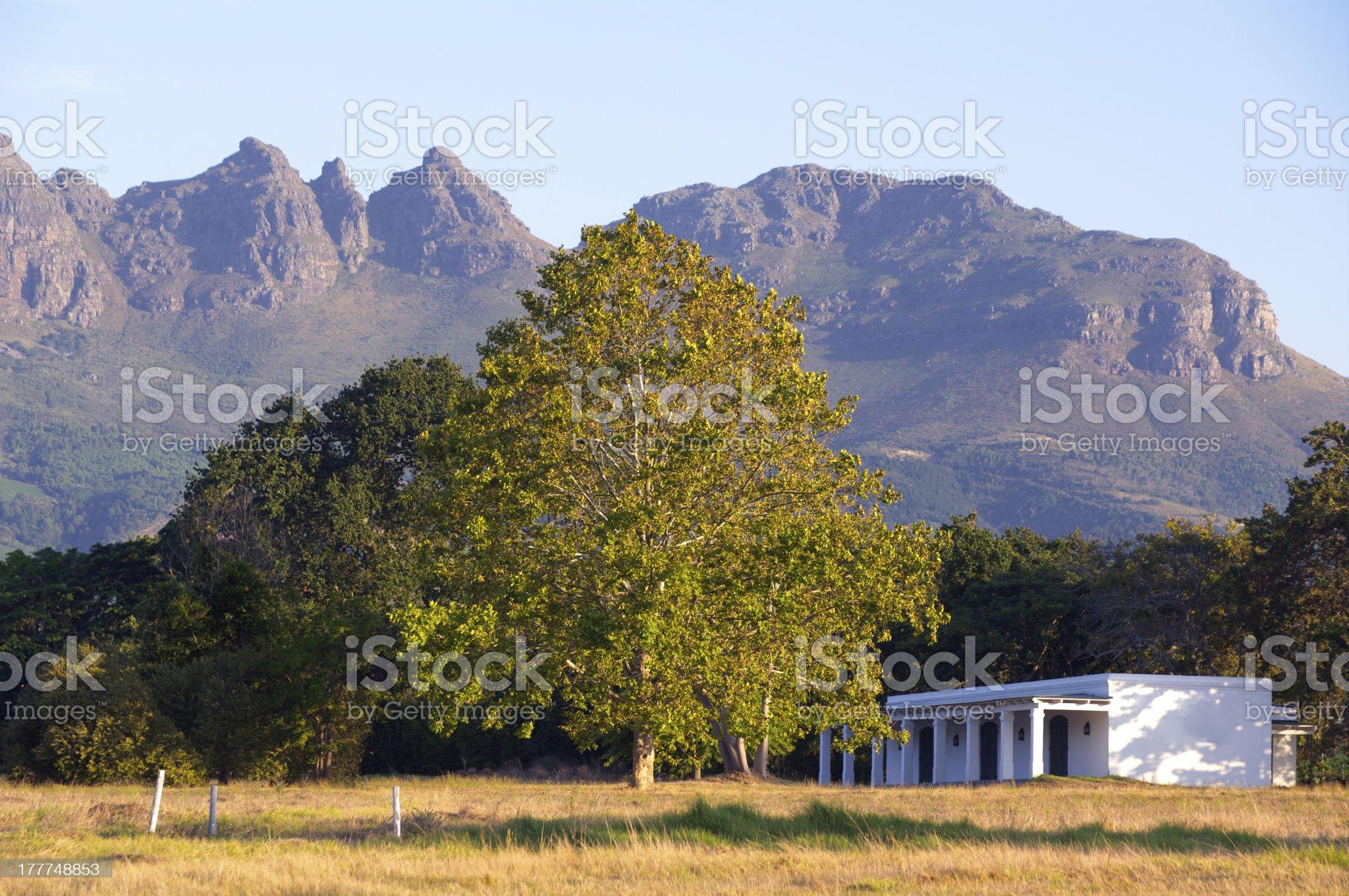 Stellenbosch, South Africa royalty-free stock photo