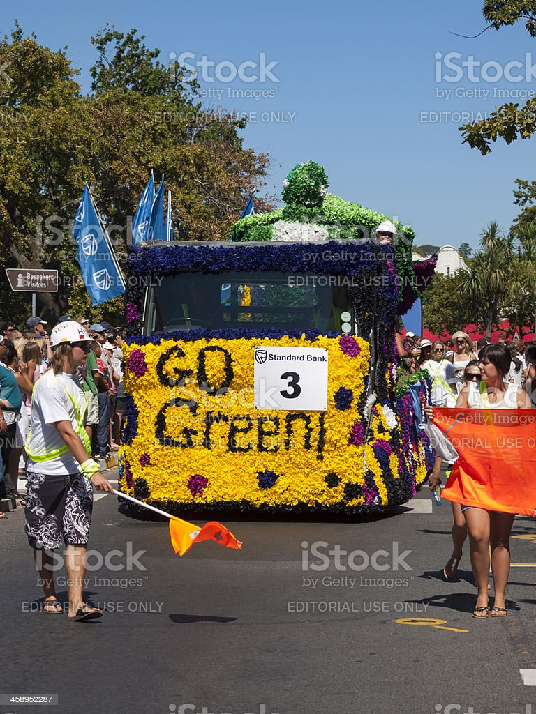 Stellenbosch University Carnival, South Africa royalty-free stock photo