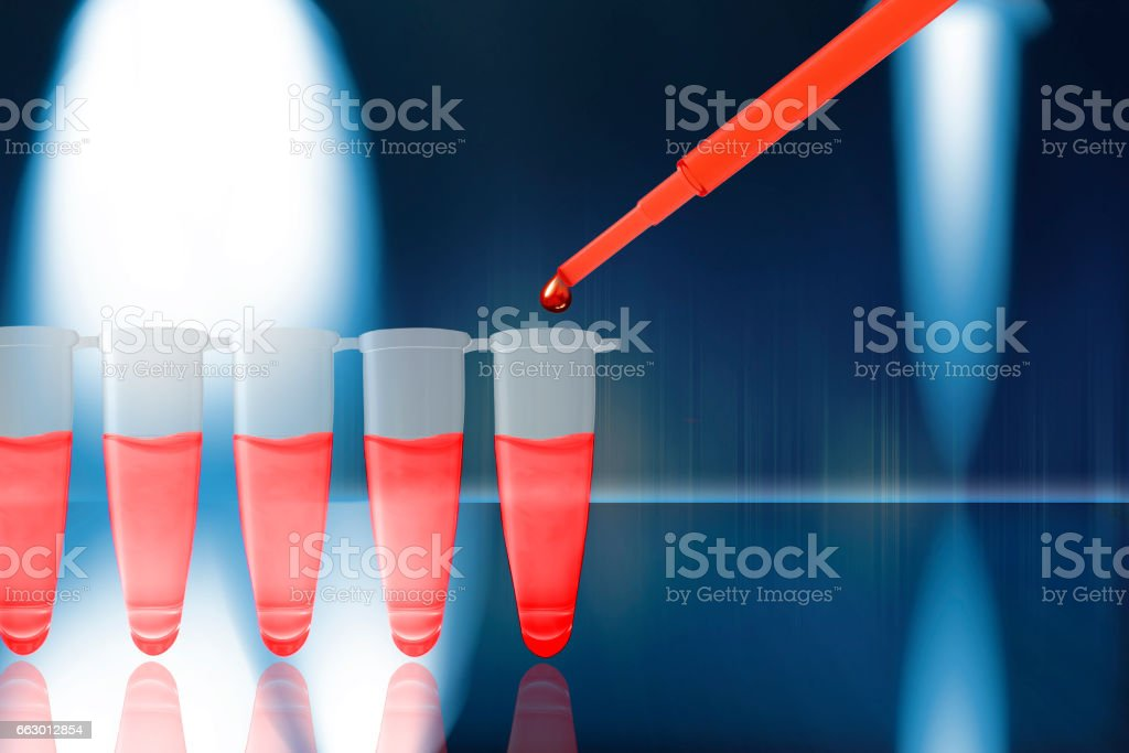 Stem Cell Research stock photo