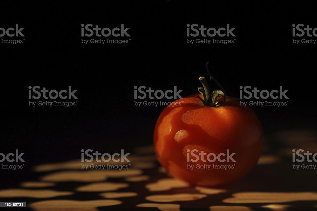 Stem Tomato stock photo