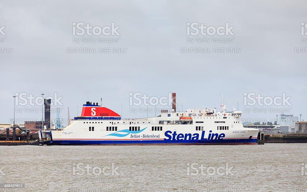 Stena Lagan stock photo