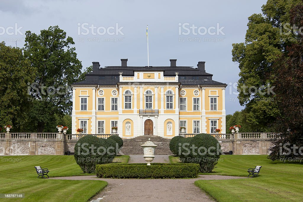 Steninge manor royalty-free stock photo