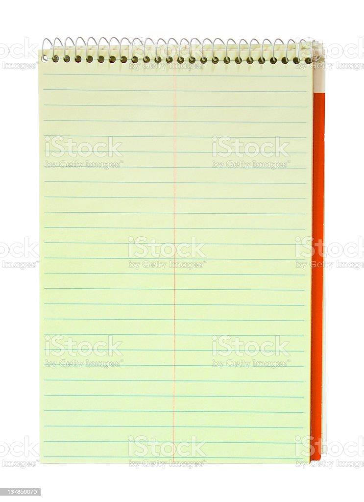 Steno Notebook royalty-free stock photo