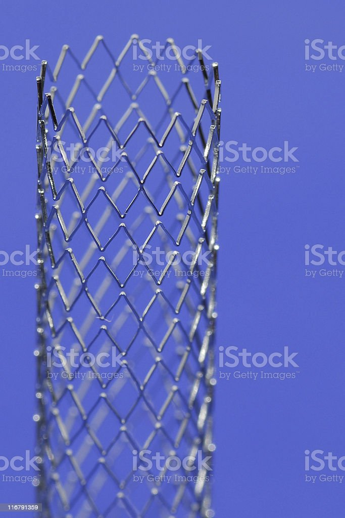 Stent royalty-free stock photo