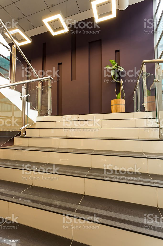 Step by step to succeed stock photo