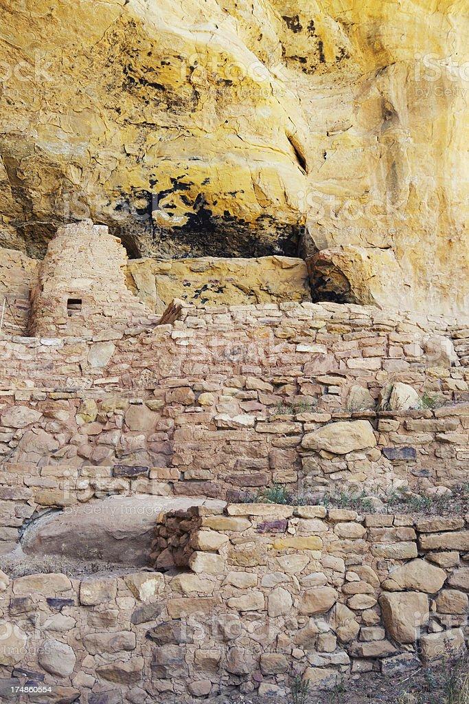 Step House Ruins - Mesa Verde National Park, Colorado stock photo