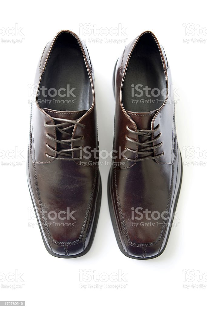 Step in to a new career: Shoes. stock photo