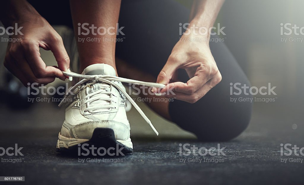 Step out of your comfort zone stock photo