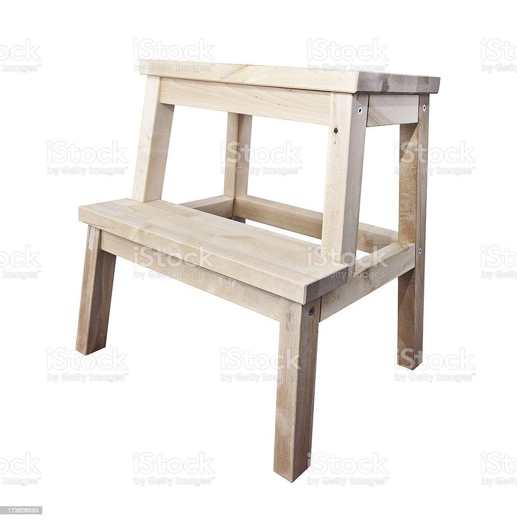 Step stool royalty-free stock photo