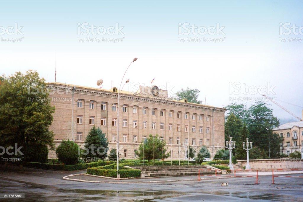 Stepanakert / Xankandi: government building stock photo
