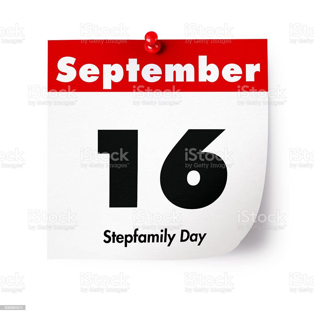 Stepfamily Day stock photo