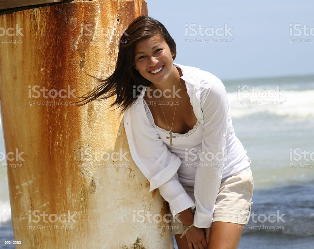 Stephanie Young Model royalty-free stock photo