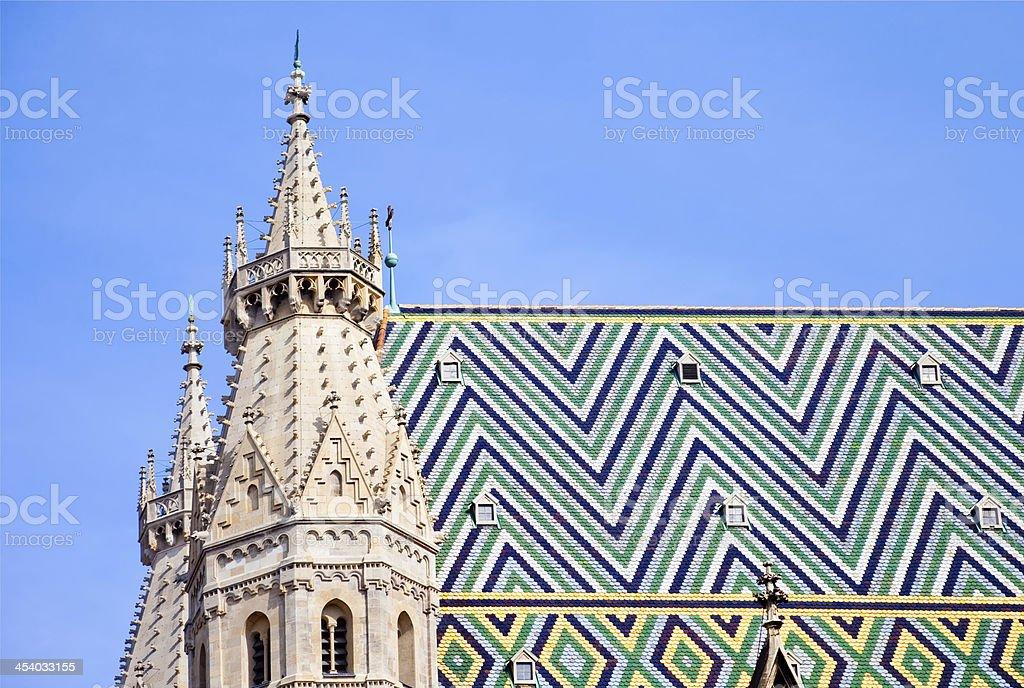 Stephansdom cathedral, Vienna, Austria stock photo