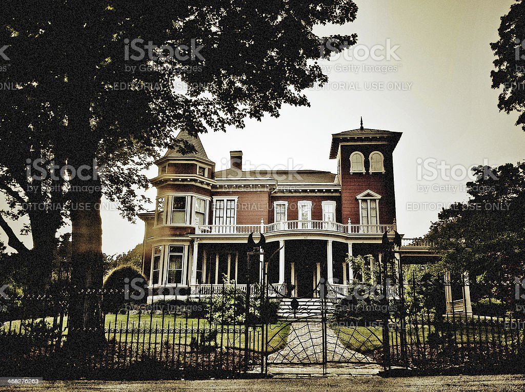 Stephen King's House stock photo