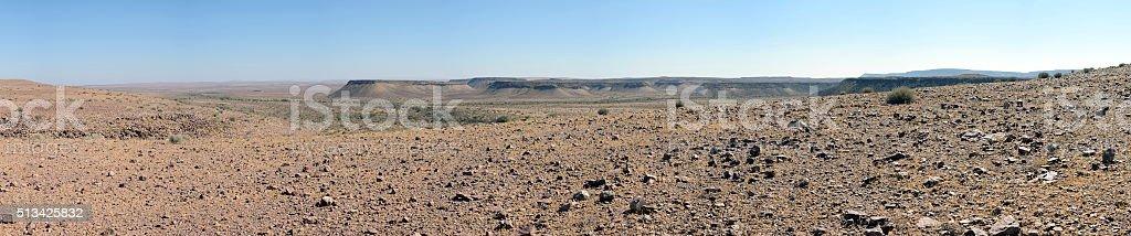 Steppe near Fish River Canyon, Namibia stock photo