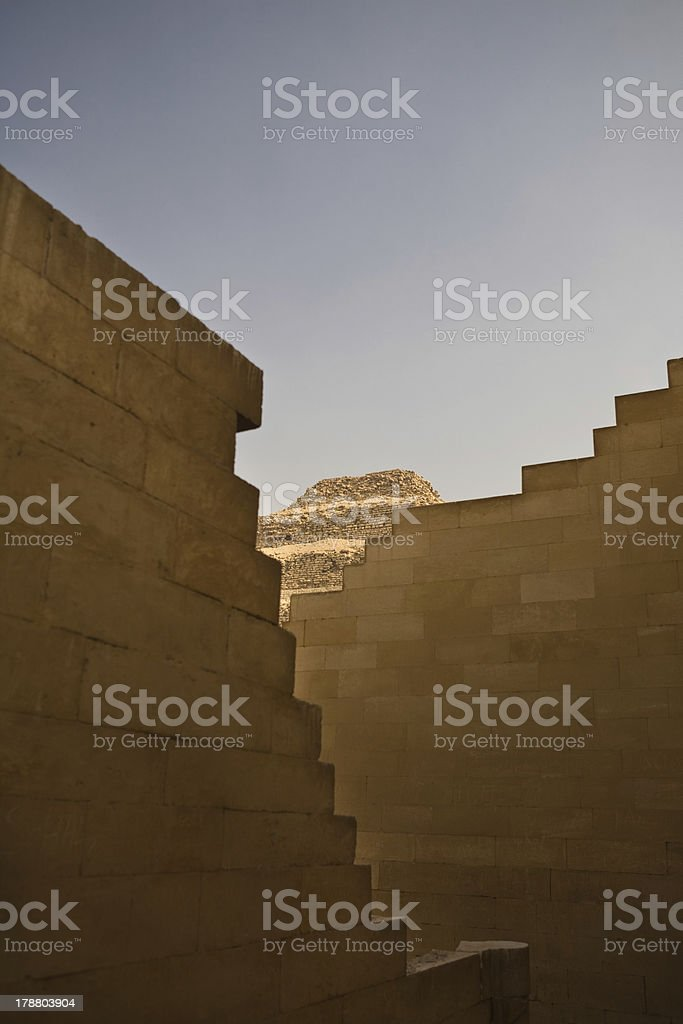 Stepped structures royalty-free stock photo