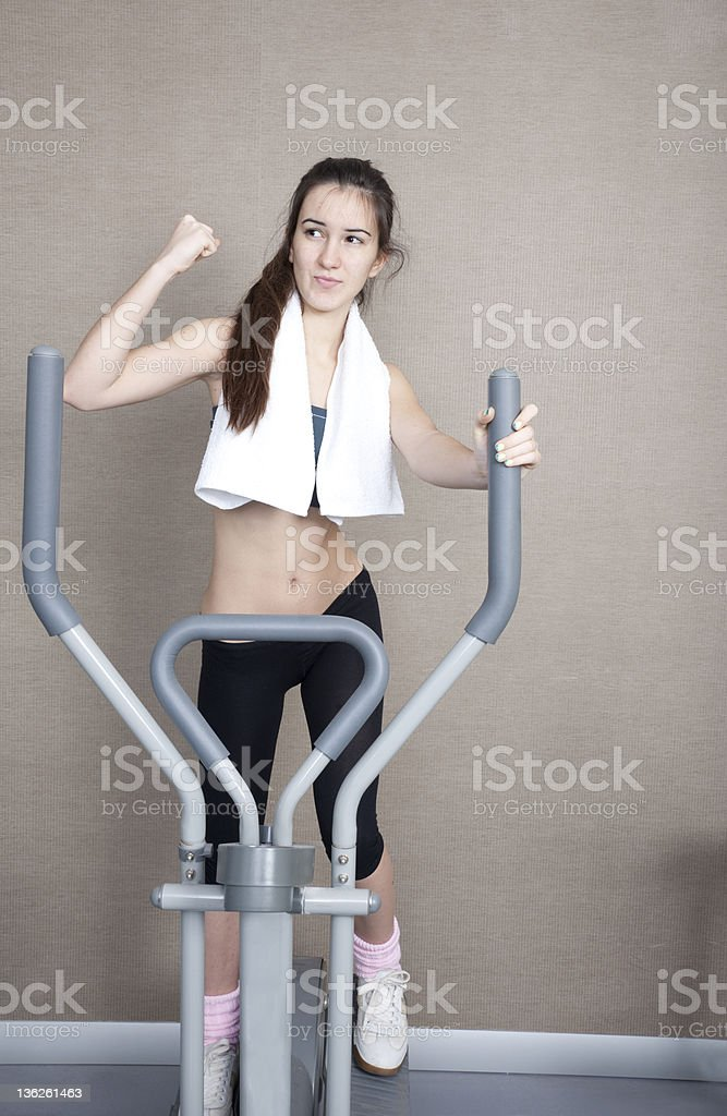 stepper royalty-free stock photo