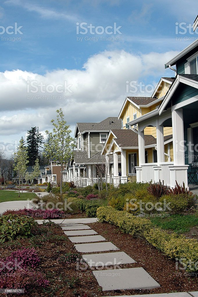 Steps Home royalty-free stock photo